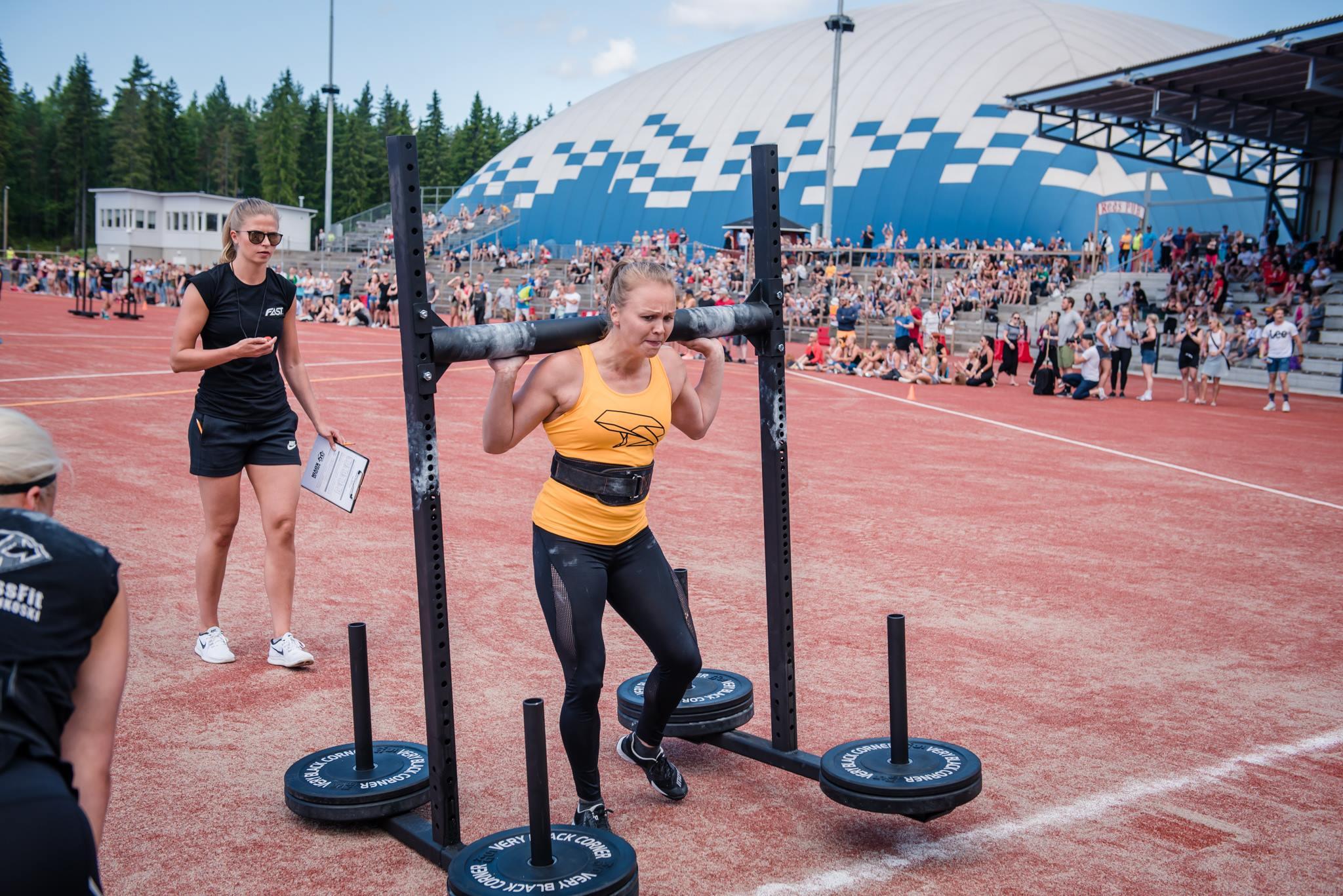 Regionaaliurheilija Sanna Venäläinen