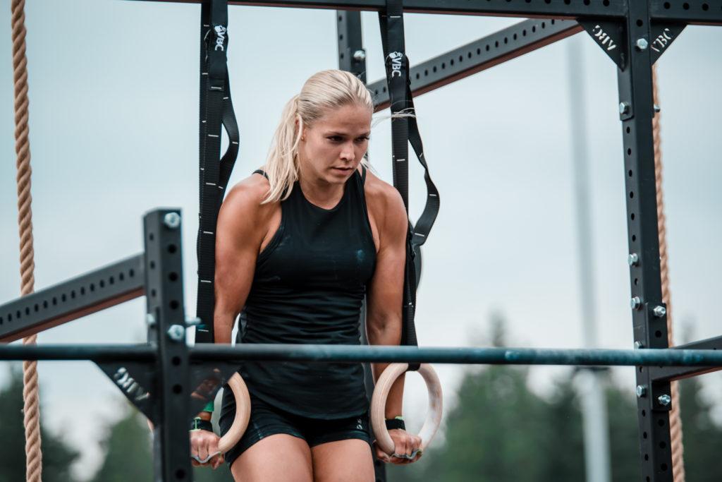 CrossFit Kuopion Anna Ollikainen.